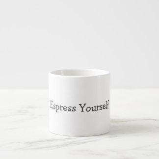 Taza de Espress usted mismo Taza Espresso