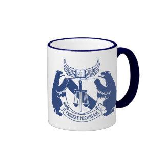 "Taza de ""Exigere Pecuniam"" (azul)"