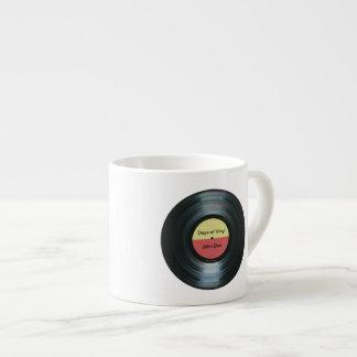 Taza de Expresso de la etiqueta del expediente de Taza Espresso