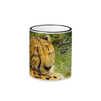Taza de Factoid del guepardo