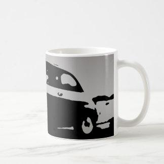 Taza de Fiat 500 - plata en oscuridad