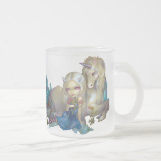 """Taza de """"Fiona y del unicornio"""""""