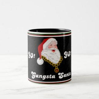 Taza de Gangsta Santa