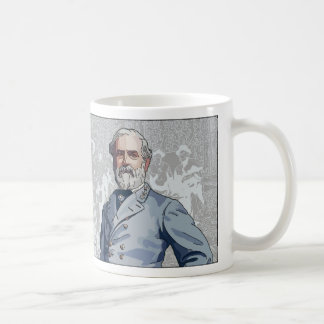 Taza de general Roberto E. Lee Confederate