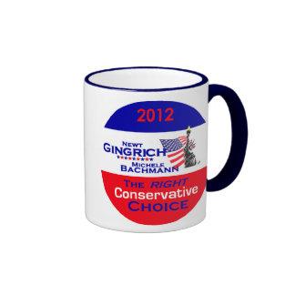 Taza de Gingrich Bachmann