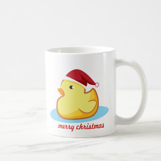 Taza de goma amarilla del pato de las Felices Navi