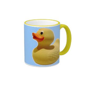 Taza de goma de Duckie