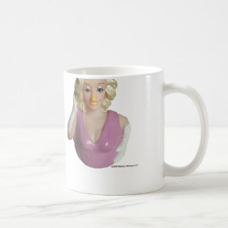 Taza de goma del pato de CelebriDucks Marilyn Monr