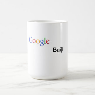 Taza de Google Baiji