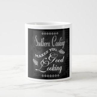 Taza de gran tamaño chistosa de cocinar meridional taza jumbo