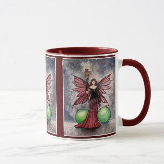 Taza de hadas del navidad por Molly Harrison