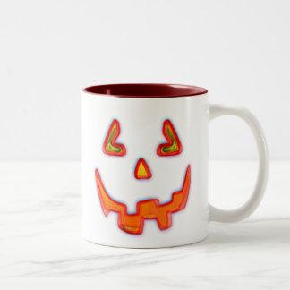 Taza de Halloween de la calabaza de Lil