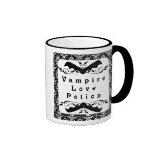 Taza de Halloween de la poción de amor del vampiro