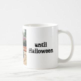 Taza de Halloween del espantapájaros