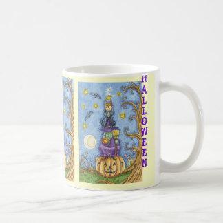 Taza de Halloween del vintage