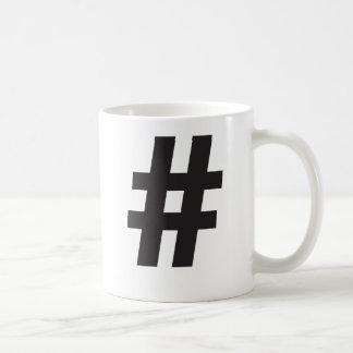 Taza de Hashtag