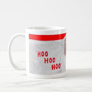 Taza de Hoo Hoo Hoo Santa