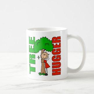 Taza de Hugger del árbol