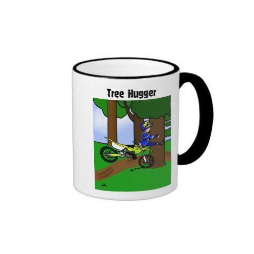 Taza de Hugger del árbol de la bici de la suciedad