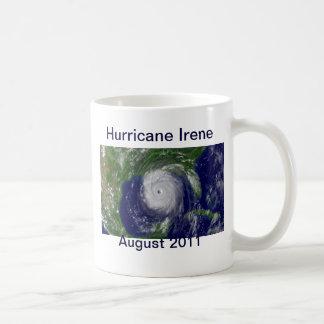 Taza de Irene del huracán