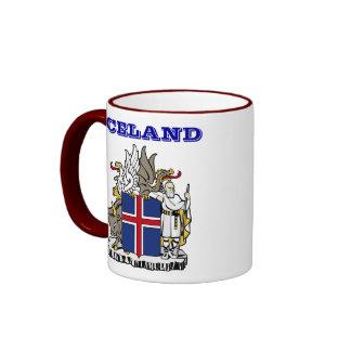 Taza de Islandia