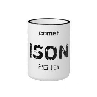 Taza de Ison del cometa
