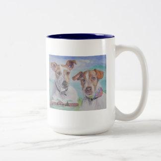 Taza de Jack Russell Terrier