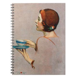 Taza de Java Spiral Notebook