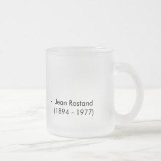 Taza de Jean Rostand