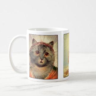 Taza de Jesús del gatito