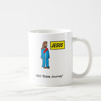 Taza de Jesús del viaje de la biblia de VBS