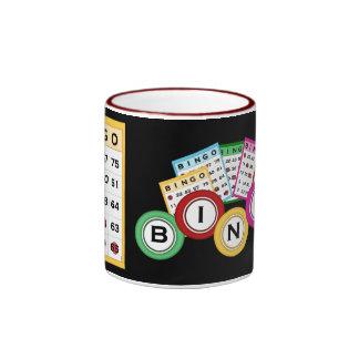 Taza de juego del bingo