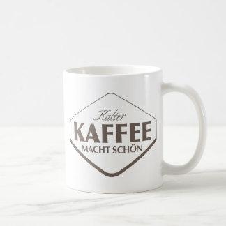Taza de Kalter Kaffee Macht Schön 2