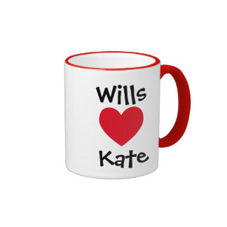 Taza de Kate de los amores de las voluntades