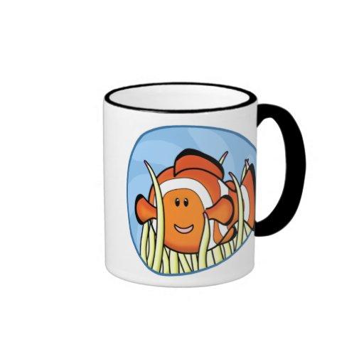 Taza de Kawaii Clownfish