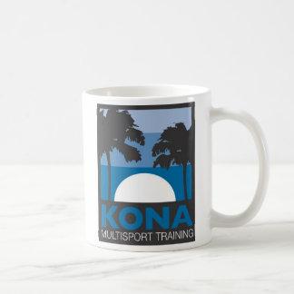 Taza de KONA con el logotipo azul… ¡El tren