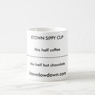 TAZA de KTOWN SIPPY, ktownlowdown.com, -----------