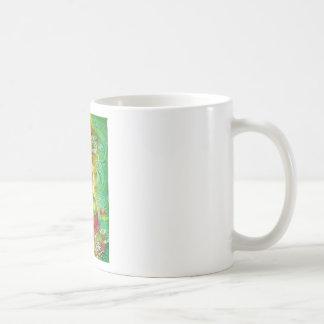 """""""Taza de Kuan Yin del dragón de agua"""" Taza De Café"""