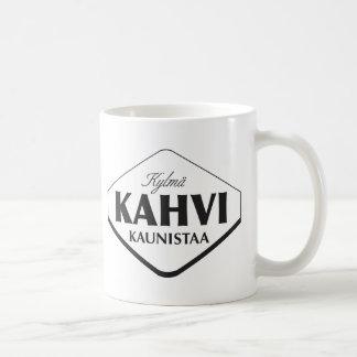 Taza de Kylmä Kahvi Kaunistaa