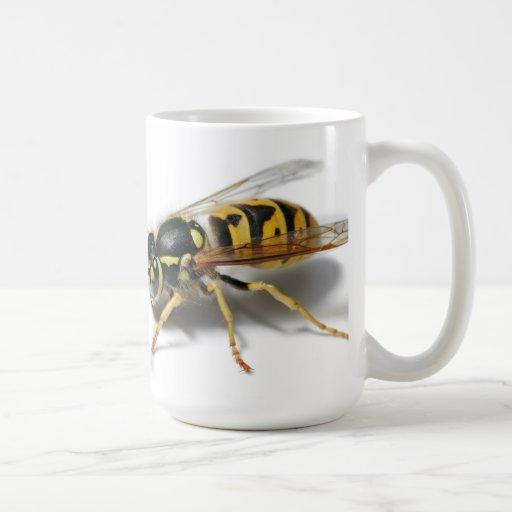 TAZA de la abeja de la AVISPA