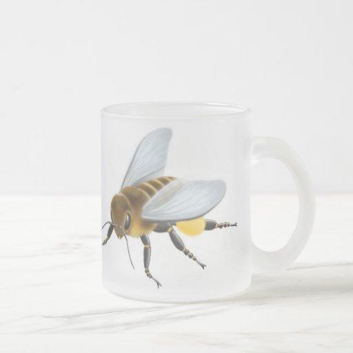 Taza de la abeja de la miel del jardín