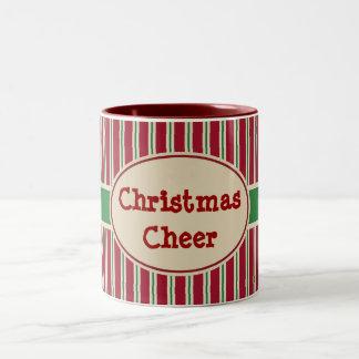 Taza de la alegría del navidad