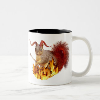 Taza de la ardilla de Krampus