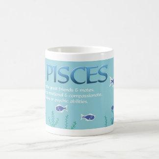 Taza de la astrología de Piscis