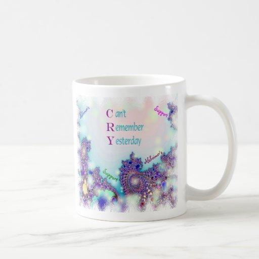 Taza de la ayuda de Alzheimer