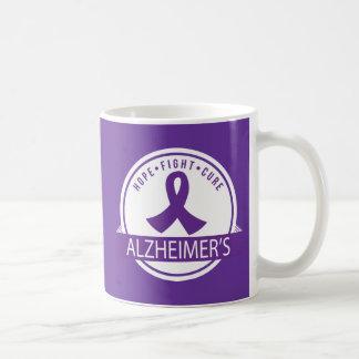 Taza de la ayuda de la enfermedad de Alzheimers de