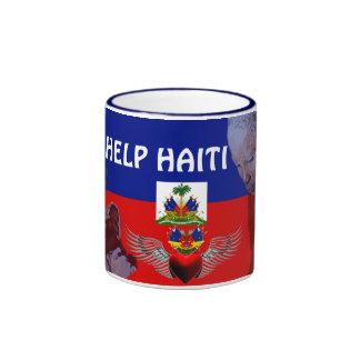 Taza de la AYUDA HAITI_