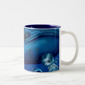 """Taza de la """"ballena azul grande"""""""