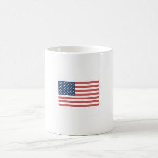 Taza de la bandera americana