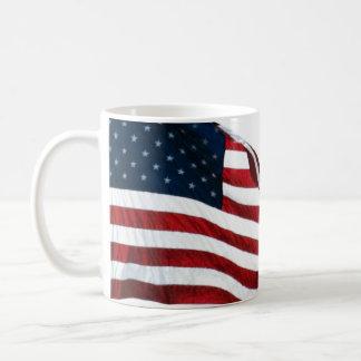 Taza de la bandera americana 2371